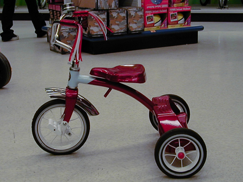 トライク三輪車